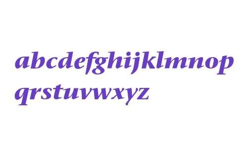 Stone Serif ITC Bold Italic