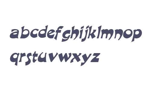 Crane  Italic