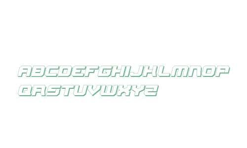 Gearhead 3D Italic