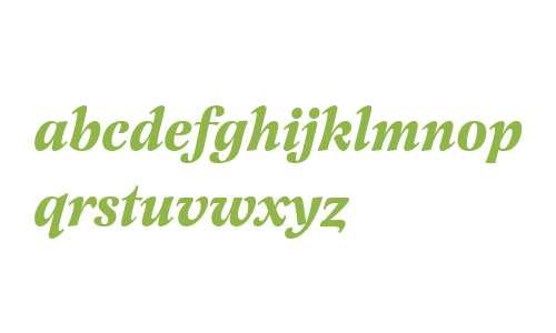 Latienne W01 Bold Italic