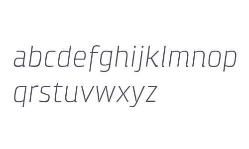 Klint W04 Light Italic
