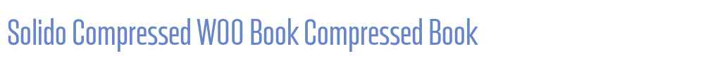 Solido Compressed W00 Book