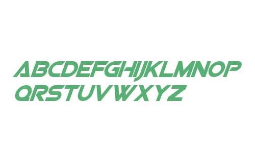 Viper Squadron Solid Italic V1