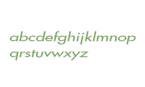 Fusi Extended Italic