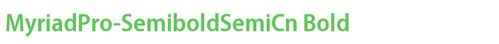 MyriadPro-SemiboldSemiCn