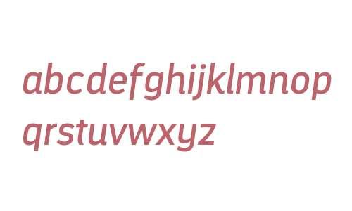 DarwinAlt W00 Italic
