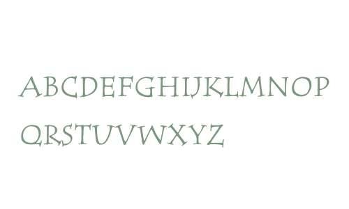 ITC Tempus Serif W01SC Reg SC