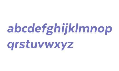 Texta Alt W00 Heavy Italic