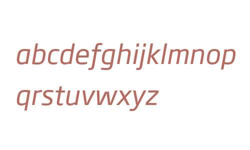 Soho Gothic W04 Italic