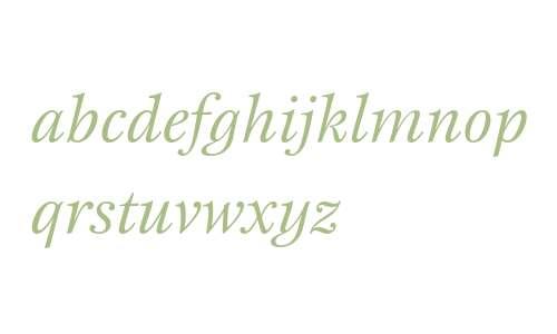 New Esprit ITC W04 Italic