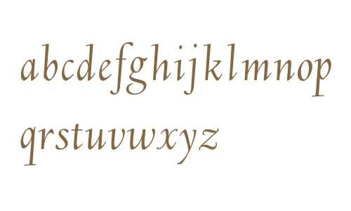 DeepdeneH-Italic