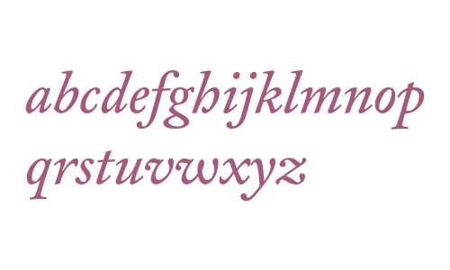 CliffordNine-Italic