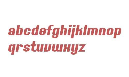SF Willamette Extended Bold Italic V2 V1