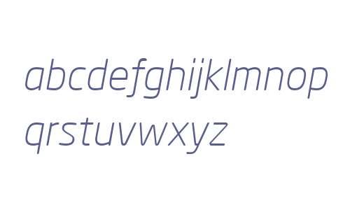 Neo Sans Pro Light Italic