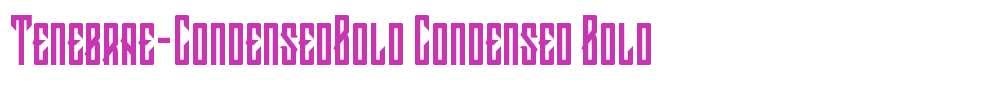 Tenebrae-CondensedBold