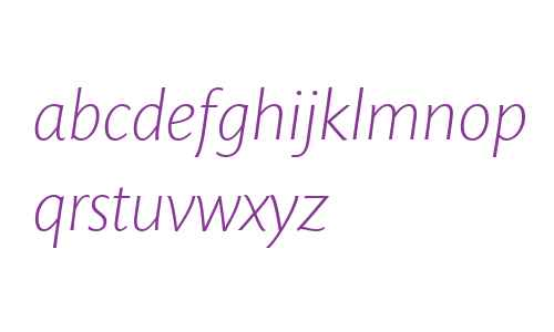 Mundo Sans W04 Light Italic