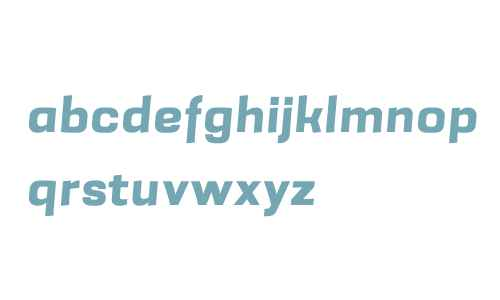 Grafia Sans 1 W01 ExtraBold It