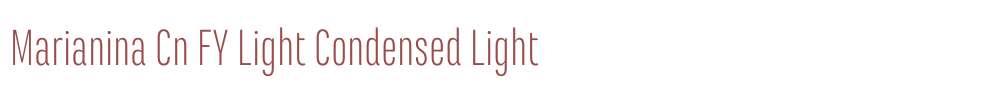Marianina Cn FY Light