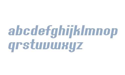 SF Willamette Extended Italic V2 V2