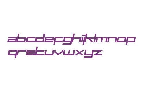 SF Square Head Bold Italic V2 V1