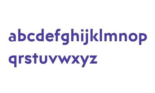 Posterama Text W15 SemiBold