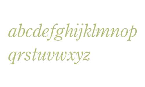 Century OS MT W04 Italic