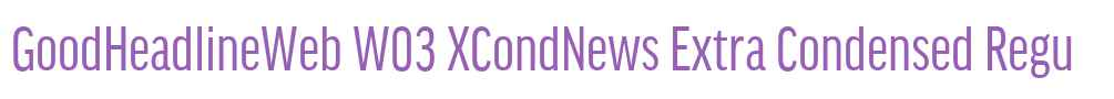 GoodHeadlineWeb W03 XCondNews