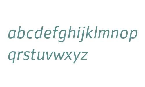 Zemestro W01 Bk Italic