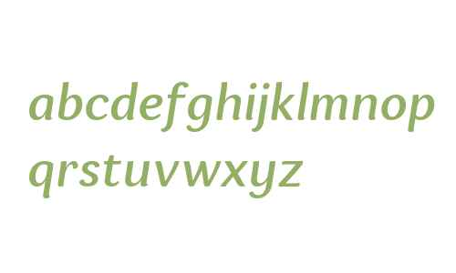 Espuma W03 Medium Italic
