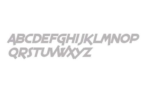 SF Espresso Shack Bold Italic V2