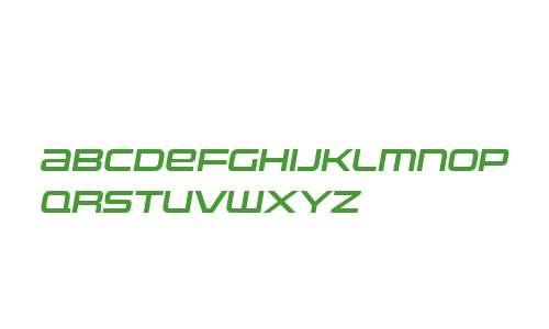 Uniwars W00 SemiBold Italic