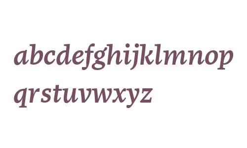 More Offc W00 Medium Italic