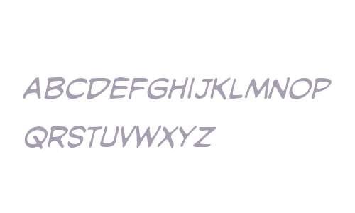 SilverAge UC BB Italic