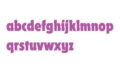 Dynamo W04 Bold Condensed