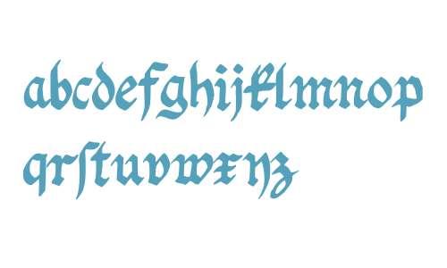 Fraktur Handschrift Regular
