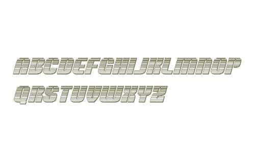 Nightwraith Chrome Italic