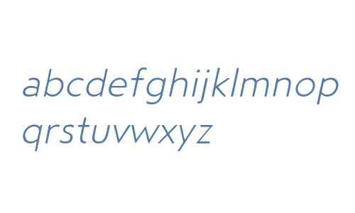 Steagal Rough W01 Light Italic