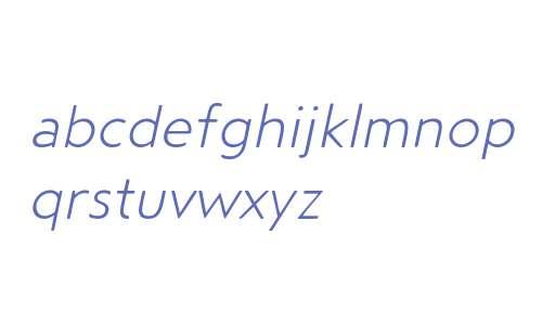 Steagal Rough W01 Light Italic