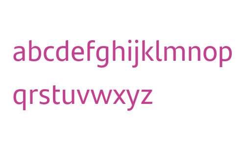 Santander Text W05 Regular