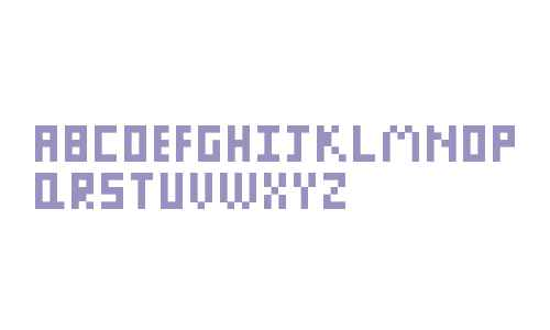Pixel Letters Regular