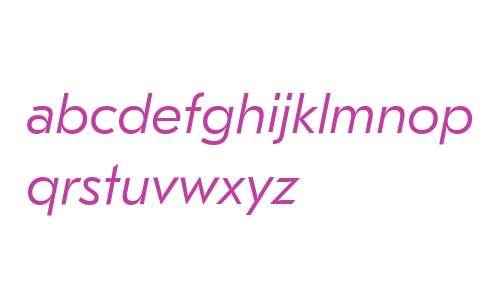 GT Eesti Pro Text Light Italic