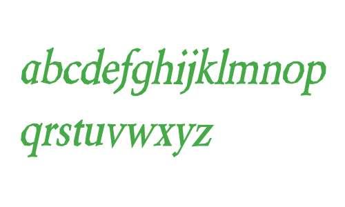 Berylium Bold Italic V1