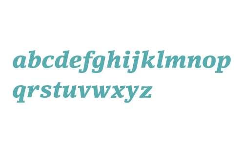 LinoLetter Black Italic Oldstyle Figures