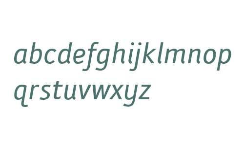 Folder W00 Italic