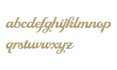 LHF Royal Script Extended