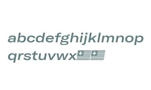GT America Extended Medium Italic