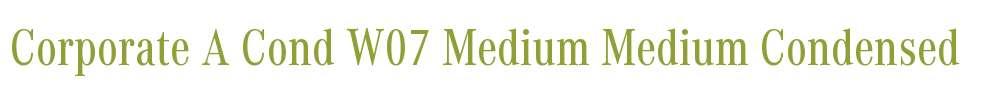 Corporate A Cond W07 Medium