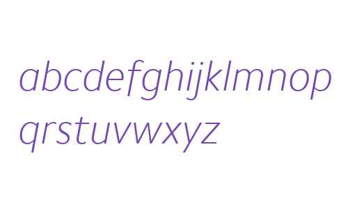 Camphor W04 Thin Italic