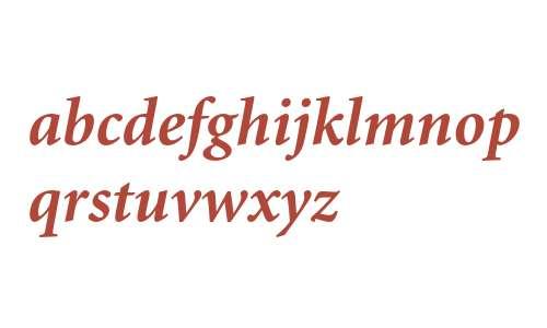Minion Bold Italic Oldstyle Figures