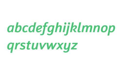 Insider W02 Medium Italic